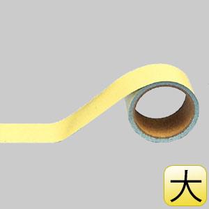 配管識別テープ 445−14 うすい黄 (大)