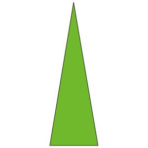 ゲージマーカー 446−84 蛍光緑 100枚1シート