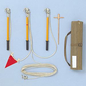 配電線用接地工具 丸母線用 S型