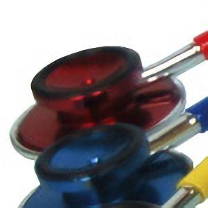 ダブルヘッド聴診器 FT−800 レッド