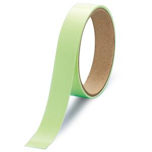 屋内の避難誘導 824−501 高輝度蓄光テープ 20mm巾×1M