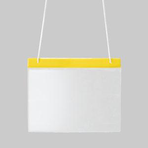 ポケット式役割ホルダー 831−692 黄