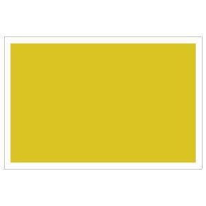 防災・訓練用品 831−976 ゼッケンステッカー 胸用 黄色無地