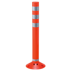 ラウンドポスト 835−319 大 オレンジ