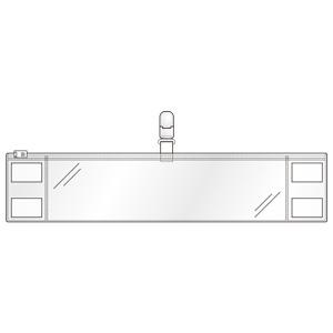 クリーンルーム用腕章 (クリップタイプ) 848−60