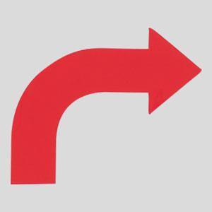 矢印テープ 862−13R 右赤 10枚1組