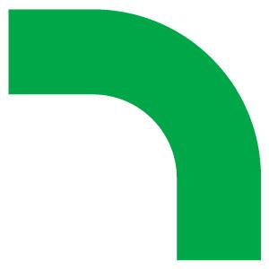コーナーテープ 862−62 PET 緑
