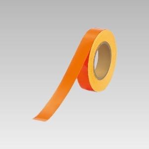蛍光ユニテープ 863−18 オレンジ 30幅×20m