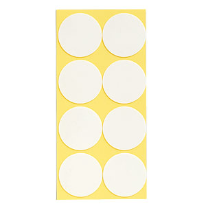 発泡両面テープ 863−363 丸型55径 80個1組