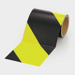 蛍光反射テープ 864−62 黄/黒 黄部反射