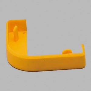 コーナープロテクター断面用キャップ 866−191 65mm用 黄