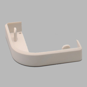 コーナープロテクター断面用キャップ 866−192 65mm用 ホワイトベージュー