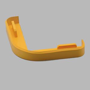 コーナープロテクター断面用キャップ 866−193 90mm用 黄