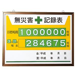 無災害記録表 867−15