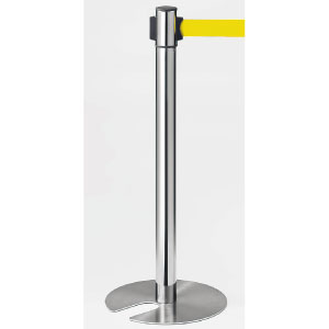 ベルトパーテーション 870−961YE 回転タッキング 黄