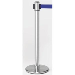 ベルトパーテーション 870−962BL 回転タイプ 青