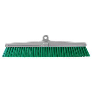 清掃用品 877−646 カラーほうき スペア 緑