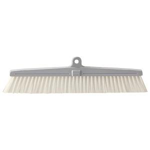 清掃用品 877−647 カラーほうき スペア 白
