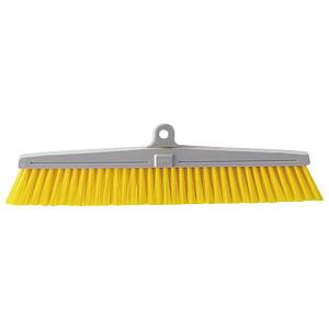 清掃用品 877−648 カラーほうき スペア 黄