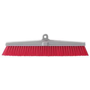 清掃用品 877−649 カラーほうき スペア 赤