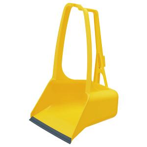 清掃用品 877−653 カラーチリトリ 黄