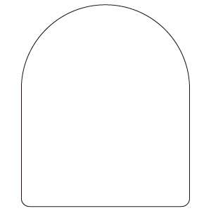 ピクト表示スタンド 887−55 ピクト表示スタンド用無地板