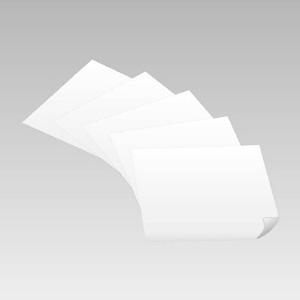 白無地ステッカー 889−01 500×500 5枚入