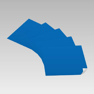 青無地ステッカー 889−05 500×500 5枚入