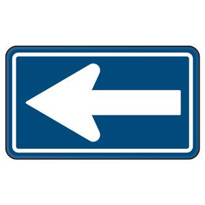 規制標識 894−19 326−A 一方通行
