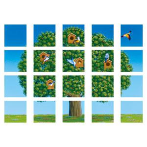 マルチシート 917−14 鳥と木