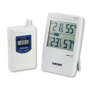 熱中対策 熱中症警告無線温湿度モニター HO−234