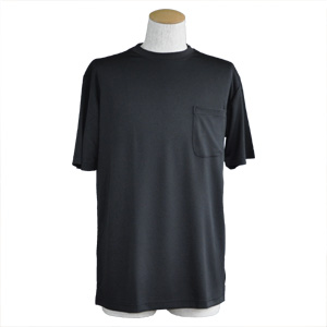 吸汗速乾Tシャツ ブラック