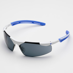 ディアドラ 保護メガネ フェザント PH−14S ホワイト/ブルー スモーク