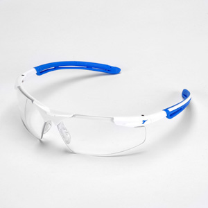 ディアドラ 保護メガネ フェザント PH−14C ホワイト/ブルー クリア