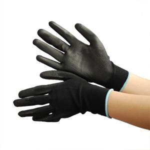 作業手袋 ハイグリップ ウレタン背抜き手袋 MHG200 M
