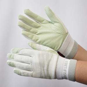 作業手袋 ノンスリップライトPパターン 甲メリ ホワイト LL