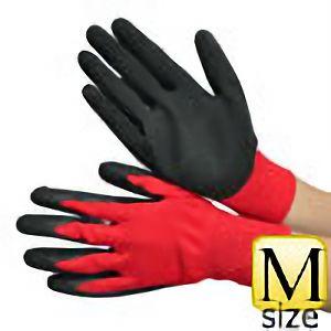 作業手袋 天然ゴム引き ノンスリップソフトX M