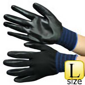 作業手袋 ニトリルゴム引き ワークハンター EVO L