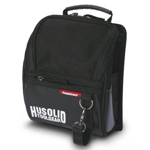 ツールバッグ HUSOLID HT−003 フタ付き腰袋 M