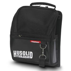 ツールバッグ HUSOLID HT−005 フタ付き腰袋 L