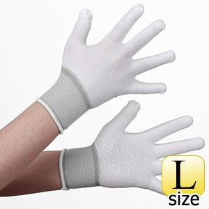 作業手袋 スムースフィット すべり止め付 5双入 L