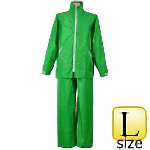レインスーツ イージーレイン EZ−55 グリーン L