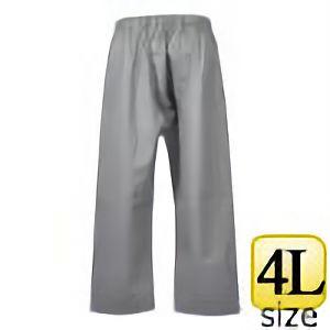 レインウェア エースガッツ AG−35P パンツ グレー 4L