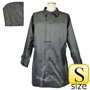 雨衣 #705 ヘリンボーンコート グレー S