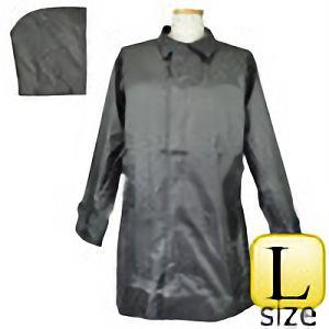 雨衣 #705 ヘリンボーンコート グレー L