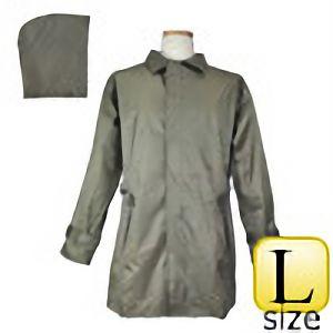 雨衣 #705 ヘリンボーンコート カーキ L