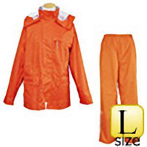 レインウェア ファンプラス FP−33 オレンジ L