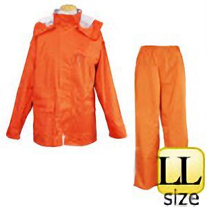 レインウェア ファンプラス FP−33 オレンジ LL