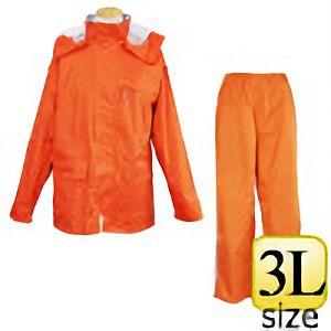 レインウェア ファンプラス FP−33 オレンジ 3L