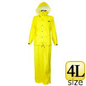 雨衣 ファングランド #9800 イエロー 4L